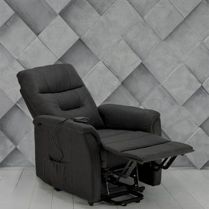 Fauteuil relaxation électrique inclinable avec lève-personne MARIE pour Senior - SR680FGS, Fauteuil inclinable avec mécanisme électrique