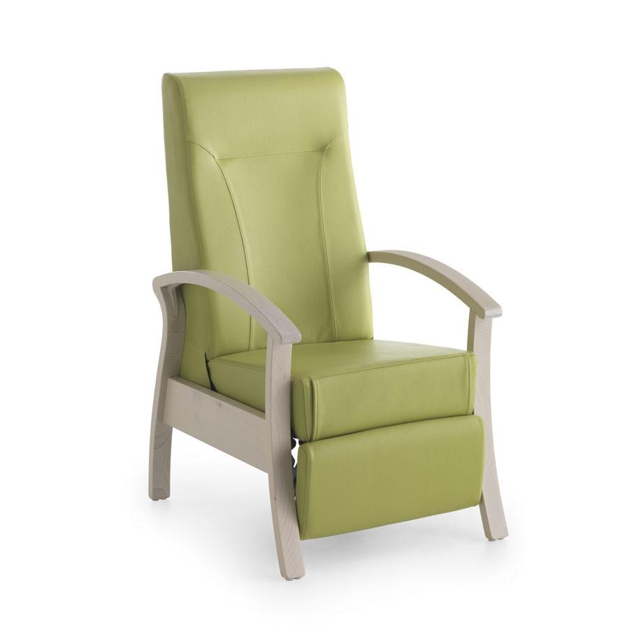Silver Age 08 EV, Chaise stable et relaxant, inclinable, pour les personnes âgées