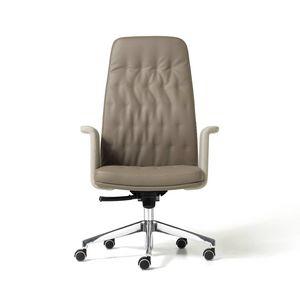 Artu, Chaise de bureau exécutif avec des roues auto-freinage