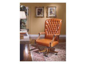 Fiore Bis, Classique chaises de bureau de style pour le bureau de luxe