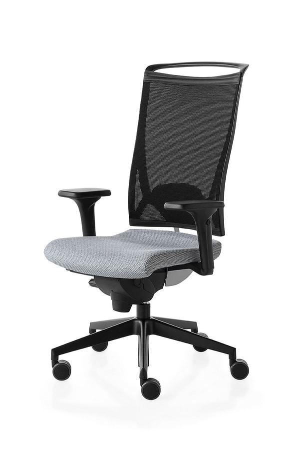 Korium, Siège de travail pour le bureau, avec des roues