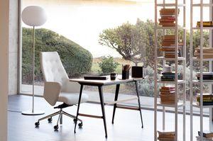 Wrap Plus 02, Chaise de bureau, en cuir ou en tissu