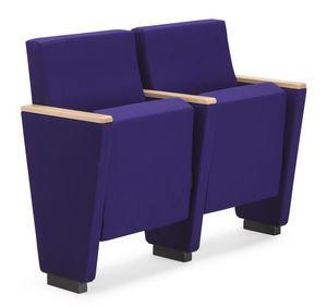 ARAN 580, Fauteuil auditorium avec siège rabattable