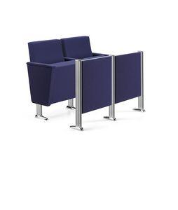 ARAN 583, Chaises avec strapontins pour les théâtres, les auditoriums et les salles de conférence