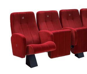 Comfort Plex, Chaise rembourrée ignifuge pour les salles de cinéma