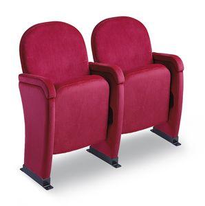 Giada Napoli, Chaise avec siège rabattable, pour les salles de théâtre