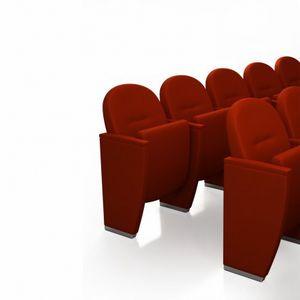 METROPOLITAN CLASSIC, Fauteuil de théâtre classique avec siège rabattable