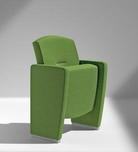 METROPOLITAN, Des sièges polyvalents pour les salles de conférence et les théâtres