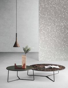 Fill petites tables, Tableau avec un design linéaire, chambre moderne centre