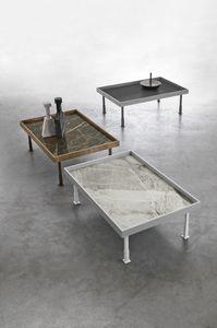 FRAME L TL529, Table basse avec plateau