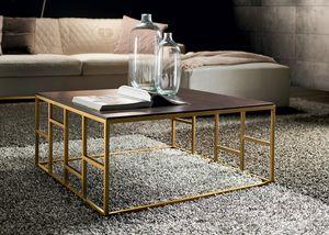 Kvadro, Tables basses avec base géométrique