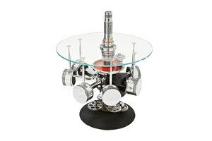 AIR-TAV0036, Table basse faite avec des parties d'un moteur d'avion