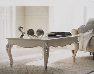 Art. 102T, Table basse laqu�e blanche