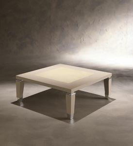 Dahlia 368T, Table basse en bois