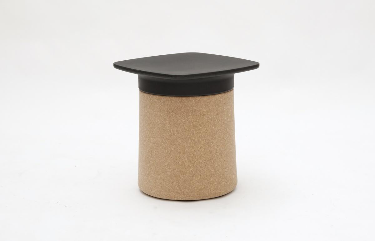 Degree, Table de chevet et tabouret multifonction en polypropylène