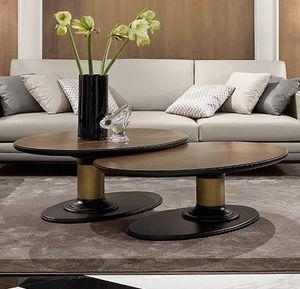 Dilan Art. D17/A - D17/B, Tables basses avec plateau ovale