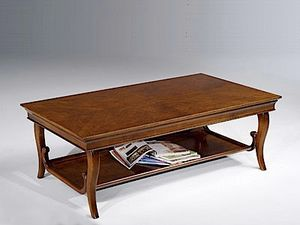 Eleonora table basse, Table basse avec deux hauts