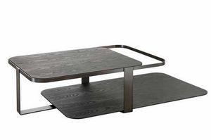 Montecarlo table basse, Table basse avec deux plateaux