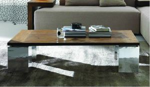 Noa table basse, Table basse avec plateau en teck