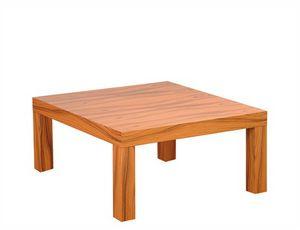 Silva 907, Table basse carrée en bois