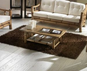 Table basse Kona, Table basse rectangulaire en bambou