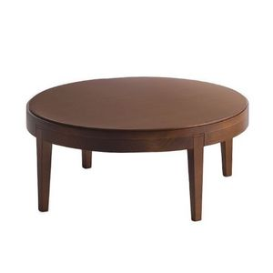 Toffee 881, Hêtre table basse avec plateau rond