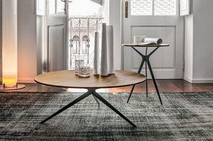 TREE, Petite table avec un design linéaire, différentes finitions, pour les discothèques