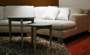 Twin Roma, Table de café amovible en bois de frêne