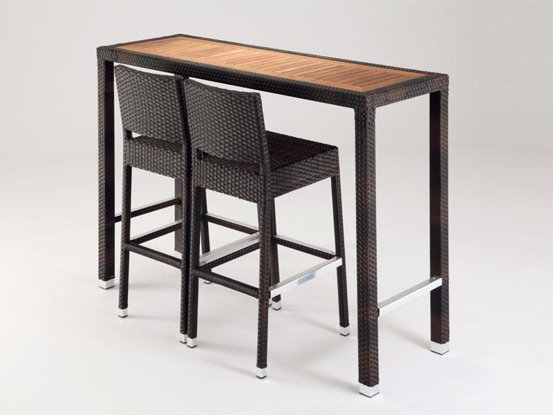 FT 2023, Jardin table haute, pour les bars et restaurants en plein air