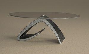Tritone, Table basse effet pierre