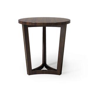 ART. 3368, Table porte-lampe avec plateau rond