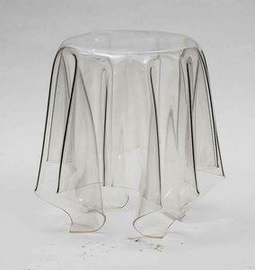 Art. 541 Fantasmino, Table basse en polycarbonate transparent, également pour l'extérieur