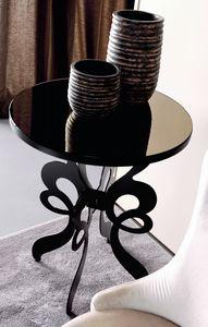 Celine Art. 306, Table ronde avec base en fer découpé au laser