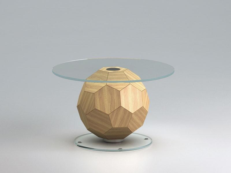 Champion 1, Café Salle de table, ballon de soccer en forme de tonneau