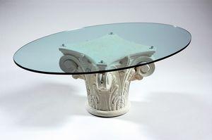 Corinto, Table basse avec base de style grec