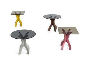 Cross, Petite table avec base en croix