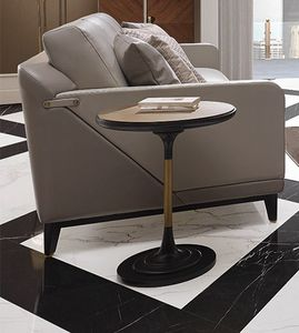 Dilan Art. D16/A/MET - D16/MAR, Table d'appoint ronde de salon
