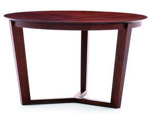 Flen 903 - 904, Table basse ronde, cadre en hêtre massif, hêtre ou dessus de marbre