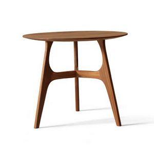 H-122, Table d'appoint ronde en bois