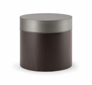 OSLO COFFEE TABLE 086 T H45, Table basse avec plateau rond rembourré