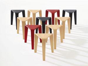 Ply, Tables avec des formes alternatives, structure minimale en bois