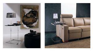 t107 stick, Table basse pour les salles de séjour, de style contemporain
