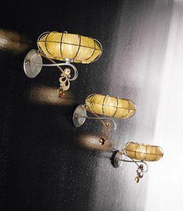 Dream applique, Lampe en m�tal peint, diffuseurs en diff�rentes finitions