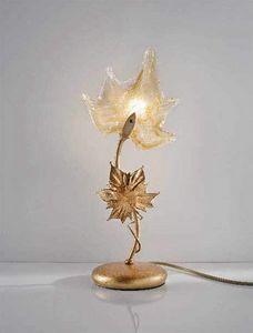 Elite table lamp, Lampe de chevet avec des diffuseurs faites avec des techniques de Murano