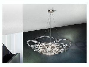 Flair chandelier, Suspension pour des bureaux et des villas modernes