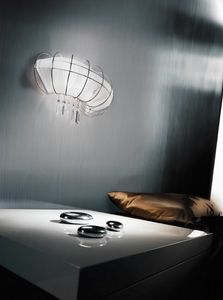 Full Moon applique, Lampe murale moderne avec une forme élégante et séduisante