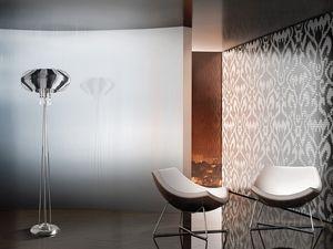Full Moon floor lamp, Lampadaire raffinée pour les bureaux dans un style moderne