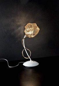 Gomitoli table lamp, Lampe de table en métal avec des diffuseurs en verre
