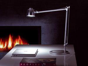 Mega Led, Lampe de table LED, bras en aluminium, pour bureau et la maison