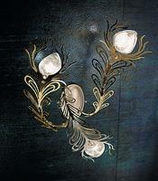 Musa applique, Éclairage de mur en différentes versions, de style moderne